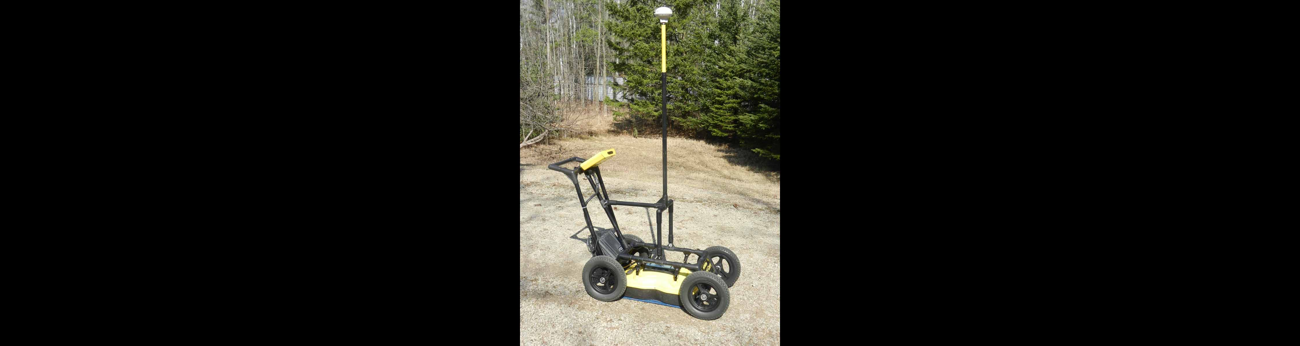 DGPS Receiver With a Ground Penetrating Radar